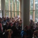 full house at presentation
