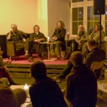 Flux Panelist and Crowd